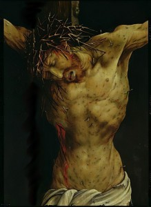 Matthias_Gruenewald_-_The_Crucifixion_from_the_Isenheim_Altarpiece_detail_of_Christs_torso_c1512-16_oi_-_(MeisterDrucke-354575)