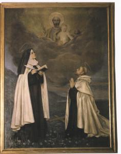 Terezie a Jan, obraz z kláštera sester karmelitek sv. Terezie ve Florencii