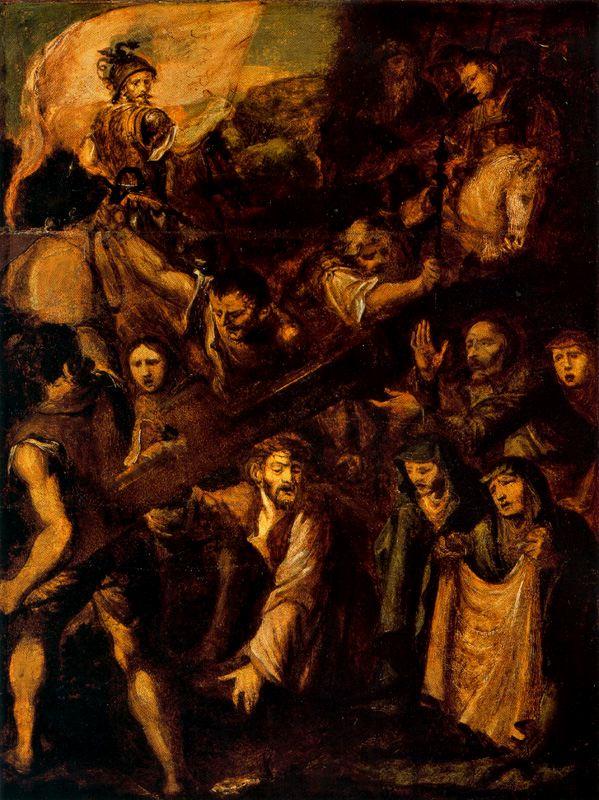 Polidoro da Caravaggio, Křížová cesta (1534)
